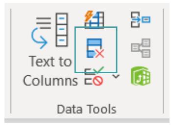 Excel Remove Duplicates icon